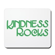 Kindness Rocks, Green Mousepad