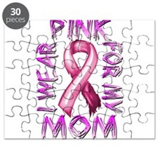 I Wear Pink for my Mom Puzzle