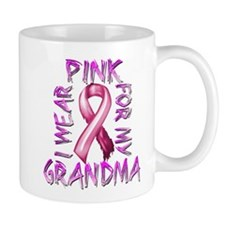 I Wear Pink for my Grandma Small Mug