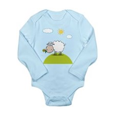 Sheep Long Sleeve Infant Bodysuit