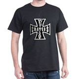 West Coast CRAPPERS Black T-Shirt