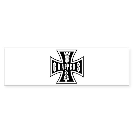 West Coast CRAPPERS Bumper Sticker