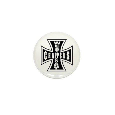 West Coast CRAPPERS Mini Button