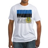 Silky Flag of Eesti Shirt