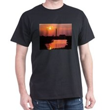 DC sunrise Black T-Shirt