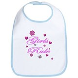 Baby girls rule Bib