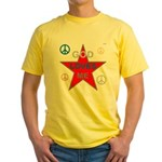 OYOOS God Loves Me design Yellow T-Shirt