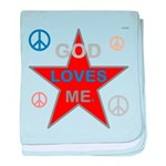 OYOOS God Loves Me design baby blanket