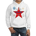 OYOOS God Loves Me design Hooded Sweatshirt
