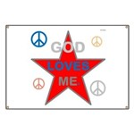 OYOOS God Loves Me design Banner