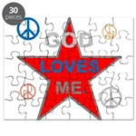 OYOOS God Loves Me design Puzzle
