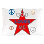 OYOOS God Loves Me design Pillow Case