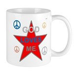 OYOOS God Loves Me design Mug
