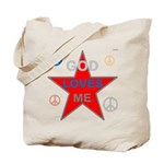 OYOOS God Loves Me design Tote Bag