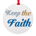 OYOOS Faith design Round Ornament