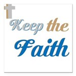 OYOOS Faith design Square Car Magnet 3