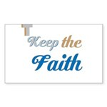 OYOOS Faith design Sticker (Rectangle 50 pk)