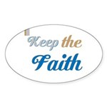 OYOOS Faith design Sticker (Oval 50 pk)