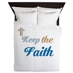 OYOOS Faith design Queen Duvet