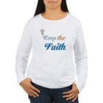 OYOOS Faith design Women's Long Sleeve T-Shirt