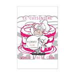 OYOOS Cook Cakes design Mini Poster Print