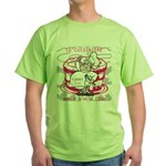 OYOOS Cook Cakes design Green T-Shirt