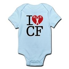Cute Cross fit Infant Bodysuit
