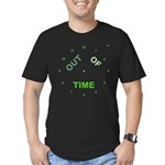 OYOOS Out Of Time design Men's Fitted T-Shirt (dar