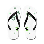 OYOOS Out Of Time design Flip Flops