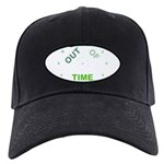 OYOOS Out Of Time design Black Cap