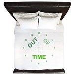 OYOOS Out Of Time design King Duvet