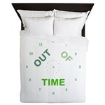 OYOOS Out Of Time design Queen Duvet