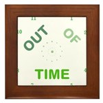 OYOOS Out Of Time design Framed Tile