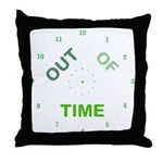 OYOOS Out Of Time design Throw Pillow