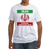 Iran National Wrestling Team (white) Shirt