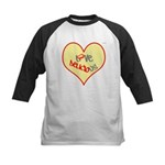 OYOOS Love Heart design Kids Baseball Jersey