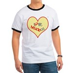 OYOOS Love Heart design Ringer T