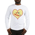 OYOOS Love Heart design Long Sleeve T-Shirt