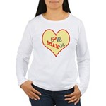 OYOOS Love Heart design Women's Long Sleeve T-Shir