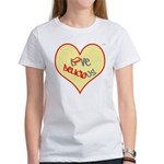 OYOOS Love Heart design Women's T-Shirt