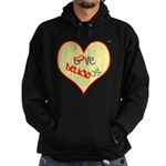 OYOOS Love Heart design Hoodie (dark)