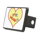 OYOOS Love Heart design Rectangular Hitch Cover