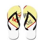 OYOOS Love Heart design Flip Flops