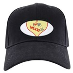 OYOOS Love Heart design Black Cap