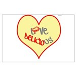 OYOOS Love Heart design Large Poster