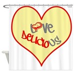 OYOOS Love Heart design Shower Curtain