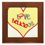 OYOOS Love Heart design Framed Tile