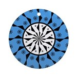 OYOOS Blue Moon design Ornament (Round)