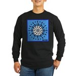 OYOOS Blue Moon design Long Sleeve Dark T-Shirt
