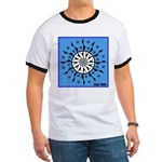 OYOOS Blue Moon design Ringer T